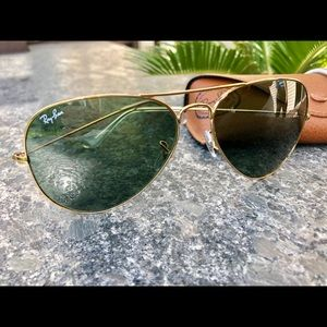 Ray-Ban Aviator LG Metal Frame Sunglasses RB3025